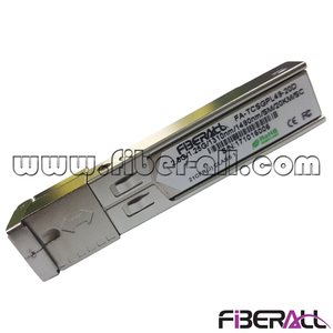 FA-TCSGPS49-20C Asymmetric Data Rate 2.5G/1.25G GPON SFP Fiber Optic Transceiver Class C+ 1490nm/1310nm 20KM SC