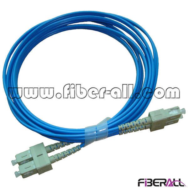 FAPC-SPSPM2B Duplex MM SC to SC Optical Fiber Patch Cord with Blue Jacket