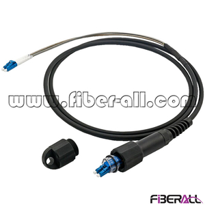 FA-PPC-PPLPS2 Armoured PDLC-LC Duplex Far Transmission Fiber Patch Cord For Base Station