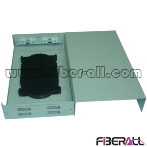 FA-FDTWFM08G-SD Mini Wall Mounted Fiber Terminal Box 8 Cores for SC Duplex Adapter