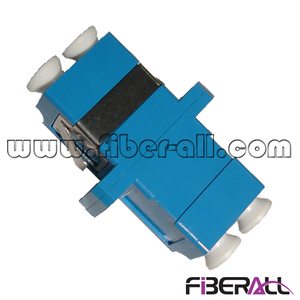 FA-AD-LP2SP-S,Single Mode LC/PC Fiber Optical Adapter with SC Footprint, Duplex, Plastic, Blue