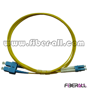 FAPC-SPLPS2 Single Mode SC-LC Optical Fiber Patch Cord, Carrier Grade Duplex Fiber Jumper