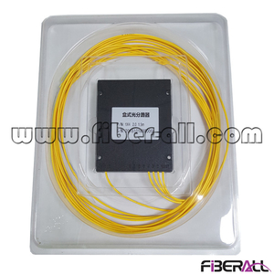 FA-PLCA1×4N,ABS Module Type 1x4 Fiber Optic PLC Splitter without Connector