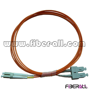 FAPC-SPLPM2 SC/UPC-LC/UPC Optical Fiber Patch Cord MM Duplex OD2.0mm PVC