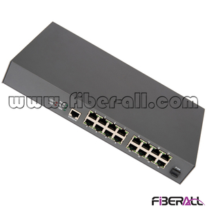 FA-EONU8016X EPON FTTB ONU with 16 10/100M Ports for Fiber to the MDU (Metal Housing)