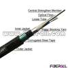 FA-OC-GYTY5324, 24 Fibers GYTY53 Outdoor Fiber Optic Cable with Dual Sheath for Direct Buried