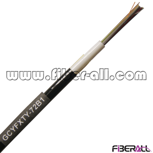 FA-OC-GCYFXTY72, 72 Fibers Non-metallic Outdoor GCYFXTY Airblown Micro Fiber Optical Cable
