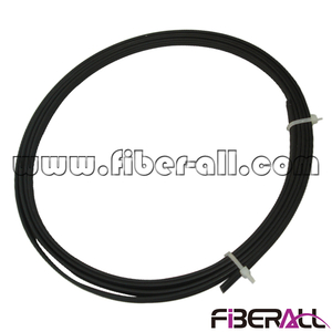 FA-FXDP0102S, 2 Cores FTTH Fiber Optical Drop Cable with Steel Wire Strengthen Member