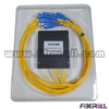 FA-PLCA1×8SU,FTTH Optical Fiber PLC Splitter 1x8 with 0.9/2.0/3.0mm Input/output and SC/UPC Connector