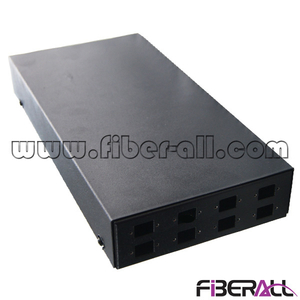 FA-FDTWFM8B 8 Fibers Mini Type Wall Mounted Fiber Optic Terminal Box With Fixed Metal Adapter Panel