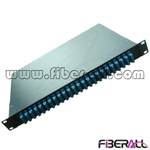 FA-FDR1MR48B-SCD Rotate Type Fiber Optic Patch Panel with 24 SC Duplex Adapters and 48 Pigtails