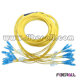 FA-BPC-SPSPS12 Breakout Patch Cord 12 Cores SC/UPC-SC/UPC Fiber Optic Jumper SM