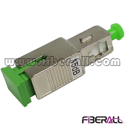 FA-OA-SAFSAM,SC/APC Female To SC/APC Male Fiber Optical Attenuator 1~30dB