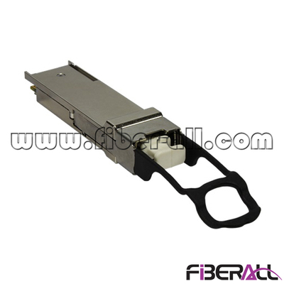 FA-TCQ40M85-0.1 Multimode 40Gbps SR4 QSFP+ Optical Fiber Transceiver MPO/MTP 850nm 100 Meters