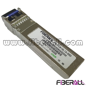 FA-TCS10L13-20D, 10G Long Range Dual Fiber SFP+ Optical Transceiver LC 20KM