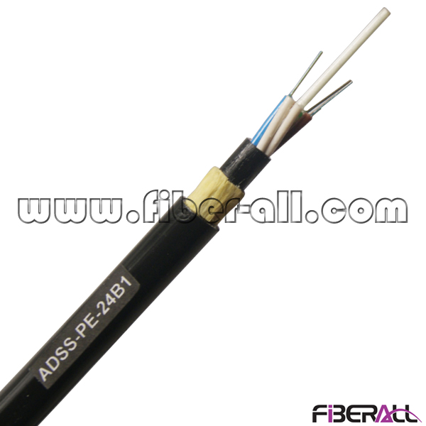 FA-OC-ADSS24 24 Fibers Nonmetallic ADSS All-dielectric Self-supporting Optical Fiber Cable for Outdoor