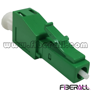 FA-AD-LAMLAF,Conversion Type Optical Fiber Adapter LC/APC Male to LC/APC Female Green