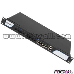 FA-EOLT8604DSH Rack Mounted 1U 19 Inch EPON Optical Line Terminal OLT with 4 PON Ports for FTTX