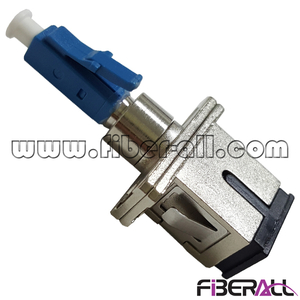 FA-AD-LPMSPF,Hybrid Conversion Optical Fiber Adapter LC/PC Male To SC/PC Female Metal/Plastic