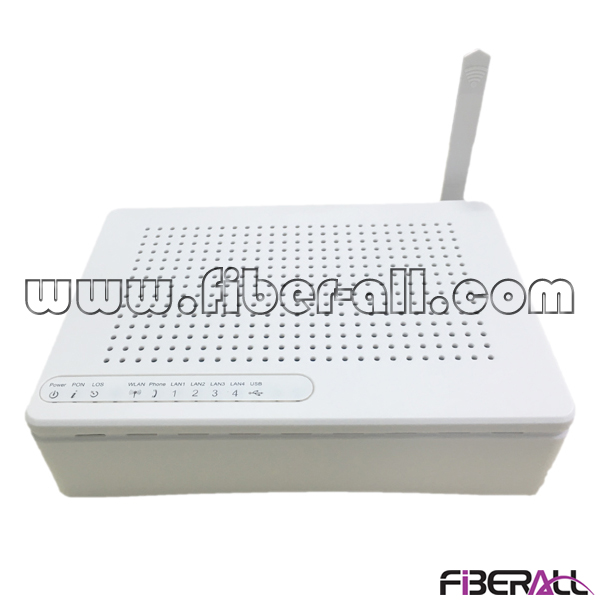 FA-GONU8007S GPON ONU ONT Optical Network Terminal with 1GE+3FE+1POTS+WIFI